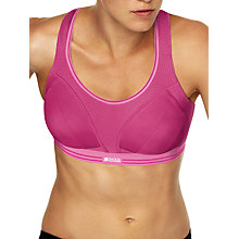 Buy Shock Absorber Run Sports Bra, Pink Online at johnlewis.com