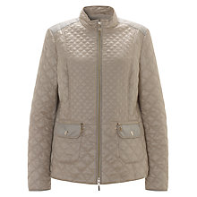 Buy Gerry Weber Diamond Quilt Coat, Reed Online at johnlewis.com