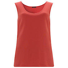 Buy Gerry Weber Basic Vest Top, Hibiscus Online at johnlewis.com