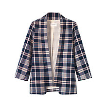 Buy Toast Harumi Asma Check Cotton Jacket, Multi Online at johnlewis.com