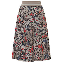 Buy Gerry Weber Jersey Butterfly Skirt, Multi Online at johnlewis.com