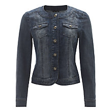 Buy Gerry Weber Denim Jacket, Blue Denim Online at johnlewis.com