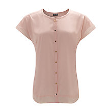 Buy Gerry Weber Sleeveless Satin Blouse, Rose Online at johnlewis.com