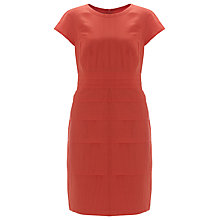 Buy Gerry Weber Linen Blend Layered Dress, Hibiscus Online at johnlewis.com