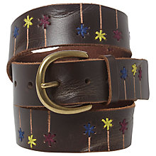 Buy White Stuff Flower Power Belt, Multi Online at johnlewis.com