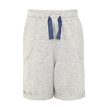 Buy Kin by John Lewis Boys' Sweat Shorts, Grey Marl Online at johnlewis.com