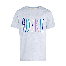 Buy Kin by John Lewis Boys' Rookie T-Shirt, Grey Online at johnlewis.com