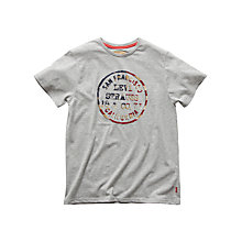 Buy Levi's Boys' America T-Shirt, Grey Online at johnlewis.com