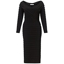 Buy Gina Bacconi Jersey Bandage Dress, Black Online at johnlewis.com