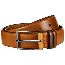 Buy BOSS Carmello Leather Belt Online at johnlewis.com