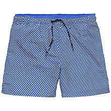 Buy Tommy Hilfiger Dodge Geo Swim Shorts, Blue Online at johnlewis.com
