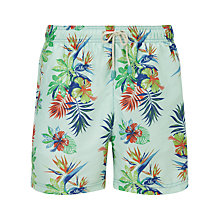 Buy Oiler & Boiler Tuckernuck Classic Paradise Swim Shorts, Blue Online at johnlewis.com