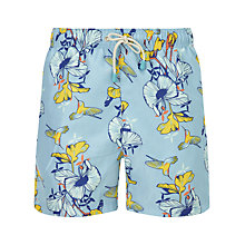 Buy Oiler & Boiler Hummingbird Swim Shorts, Blue Online at johnlewis.com