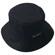 Buy Barbour Wax Sports Hat, Navy Online at johnlewis.com