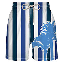 Buy Vilebrequin Mahina Stripe Swim Shorts, Navy Online at johnlewis.com