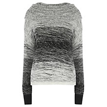 Buy Wishbone Melodie Tweed Jumper, Black/White Online at johnlewis.com