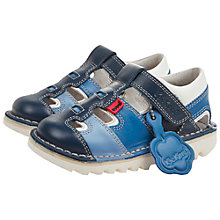 Buy Kickers Sneak Sandals, Blue Online at johnlewis.com