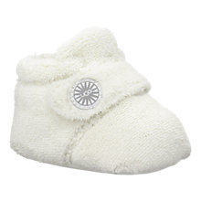 Buy UGG Baby Infant Bixbee Booties, Vanilla Online at johnlewis.com