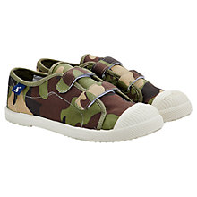 Buy Little Joule Robbie Canvas Shoes Online at johnlewis.com