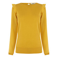 Buy Oasis Frill Shoulder Top Online at johnlewis.com