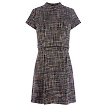 Buy Warehouse Tweed Dress, Multi Online at johnlewis.com