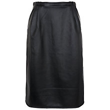 Buy French Connection Wild Ashes Skirt, Black Online at johnlewis.com