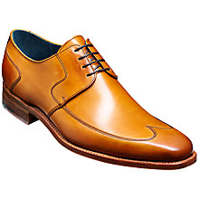 Buy Barker Herbert Leather Derby Shoes, Cedar Online at johnlewis.com