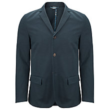 Buy Bellerose Jona Casual Cotton Blazer, Navy Online at johnlewis.com