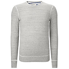 Buy Bellerose Double Face Interlock Jumper, Heather Grey Online at johnlewis.com