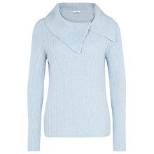 Buy Kaliko Soft Neck Jumper, Ice Online at johnlewis.com