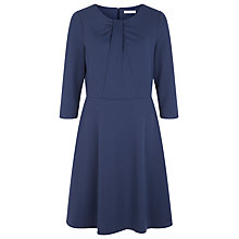 Buy Kaliko Twist Neck Ponte Dress, Blueberry Online at johnlewis.com