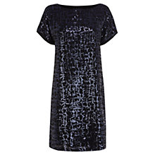 Buy Coast Uriah Sequin Dress, Navy Online at johnlewis.com