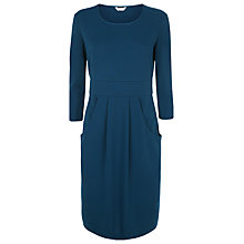 Buy Kaliko Ponte Dress, Teal Online at johnlewis.com