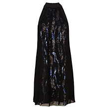 Buy Coast Nadalia Sequin Dress, Black Online at johnlewis.com