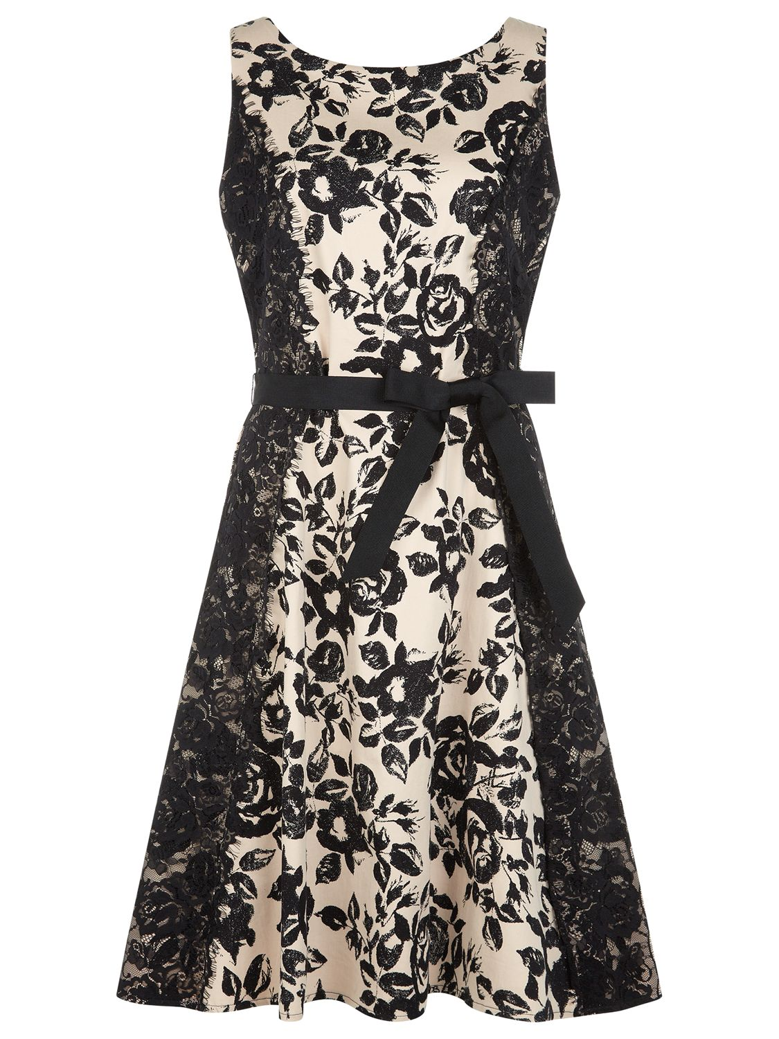 kaliko lace panel printed prom dress multi black, kaliko, lace, panel, printed, prom, dress, multi, black, 8|10|18|16|14, clearance, womenswear offers, womens dresses offers, special offers, 20% off selected kaliko, new years party offers, women, inactive womenswear, new reductions, womens dresses, party outfits, party dresses, 1759292