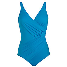 Buy Miraclesuit Oceanus Shaping Swimsuit, Turquoise Online at johnlewis.com