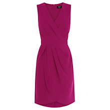 Buy Oasis Caitlin Drape Crepe Dress Online at johnlewis.com