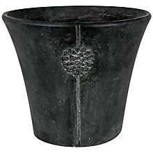 Buy Ivyline Tuscany Embossed Pot, Grey Online at johnlewis.com
