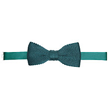 Buy John Lewis Knitted Silk Bow Tie Online at johnlewis.com
