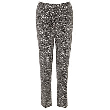 Buy Gardeur Ankle Straight-leg Trousers, Blue Online at johnlewis.com