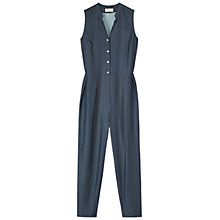 Buy Toast Yuka Playsuit, Navy/White Online at johnlewis.com