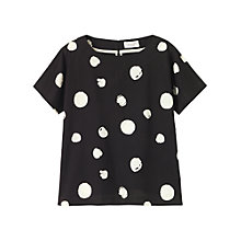 Buy Toast Imari Spot Print Cotton Top Online at johnlewis.com