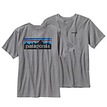 Buy Patagonia Organic Cotton P-6 Logo T-Shirt Online at johnlewis.com