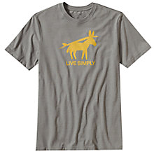 Buy Patagonia Live Simply Burros Y Tablas T-Shirt Online at johnlewis.com