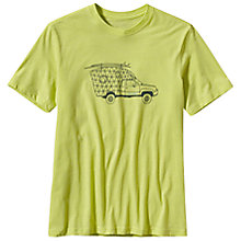 Buy Patagonia Live Simply Surfer Campervan T-Shirt, Yellow Online at johnlewis.com