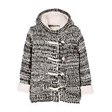 Buy Mango Kids Girls' Toggle Knit Cardigan Online at johnlewis.com