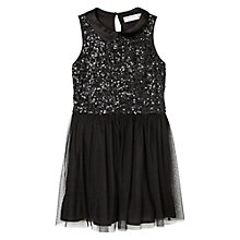 Buy Mango Kids Girls' Sequin Tulle Dress Online at johnlewis.com