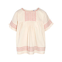 Buy John Lewis Girl Gypsy Swing Top, Chintz Rose Online at johnlewis.com