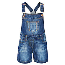 Buy John Lewis Girl Denim Bibjean Dungarees, Blue Online at johnlewis.com