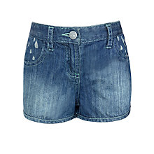 Buy Kin by John Lewis Girls' Denim Shorts, Light Blue Denim Online at johnlewis.com